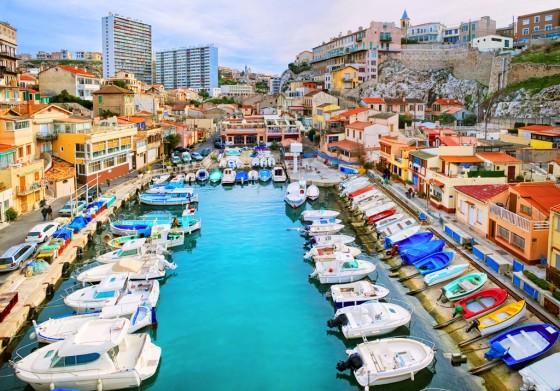 Fischerhafen von Marseille