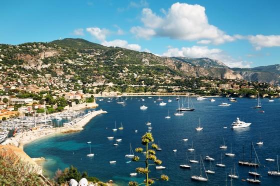 An der Grenze zu Italien: Nizza