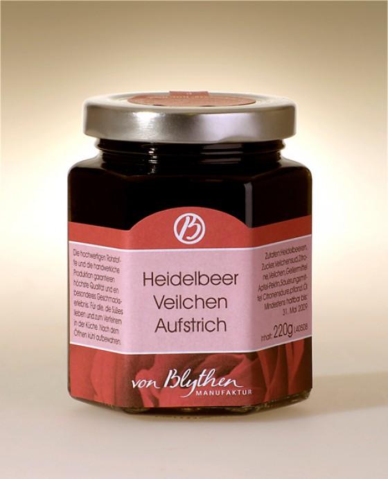 Heidelbeer-Veilchen-Konfitüre