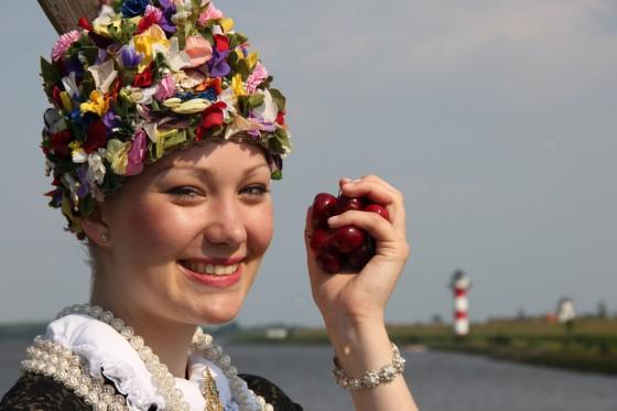 Blütenkönigin Altes Land Kirschen 2012