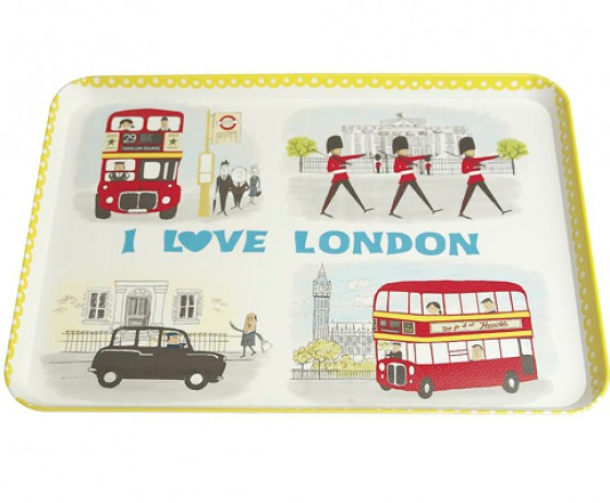 London Tablett von bertine