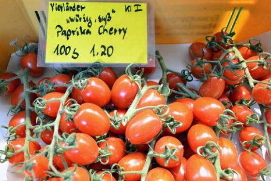 Paprika Cherrytomaten