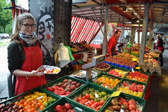 Marktstand Tautzi's Isemarkt