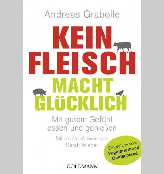 Buch Cover Kein Fleisch macht glücklich