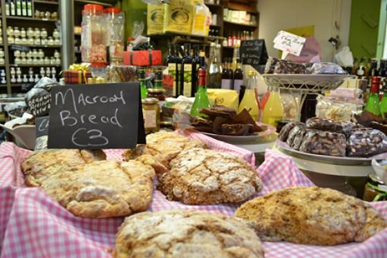 Irland English Market Indoor Markt in Cork Brot