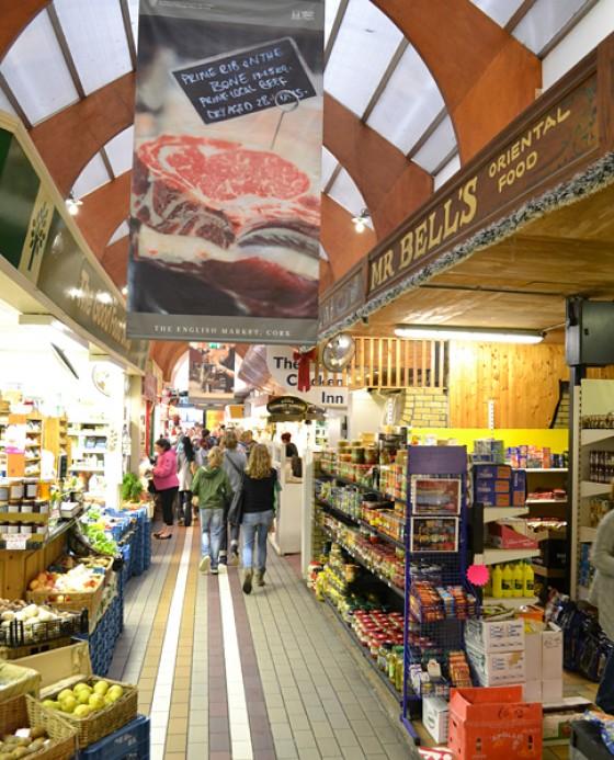 Irland English Market Indoor Markt in Cork 2