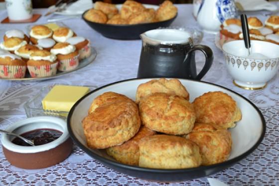 Scones und Muffins