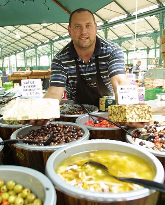 St Georges Market Belfast Irland