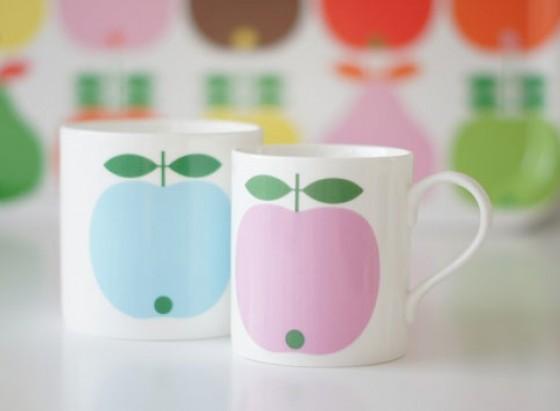 Apfel Tassen