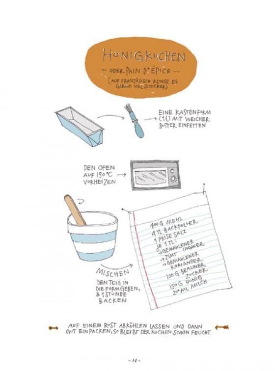 Rezept für Honigkuchen: Home Made Winter