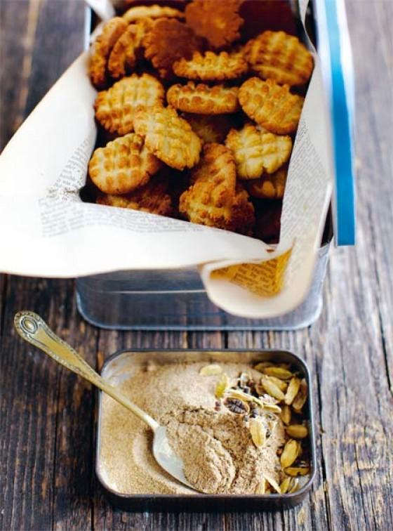 Kardamon Kekse aus Indien
