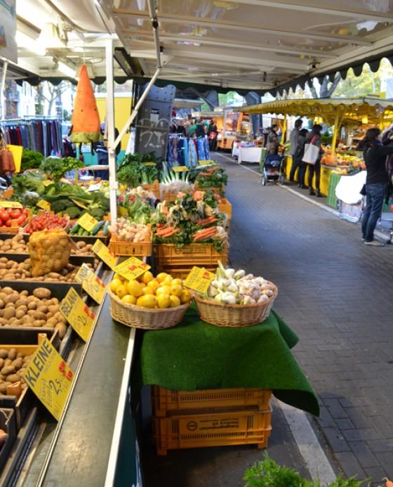 Der Isemarkt in Hamburg