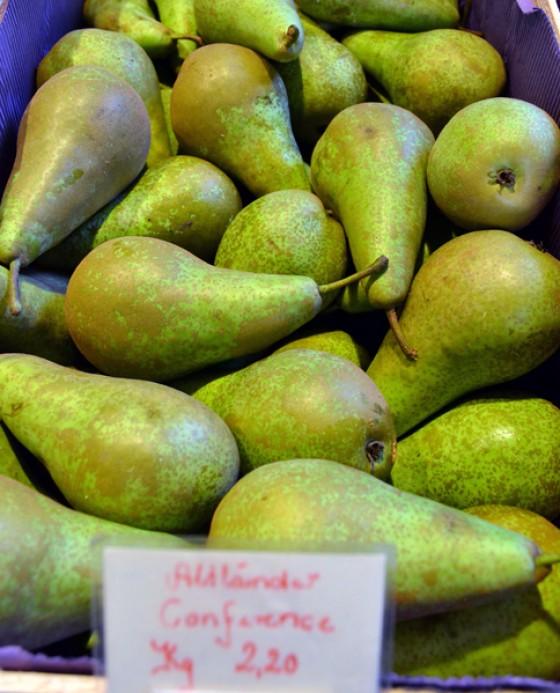 Birnen Wochenmarkt Herbst 2012