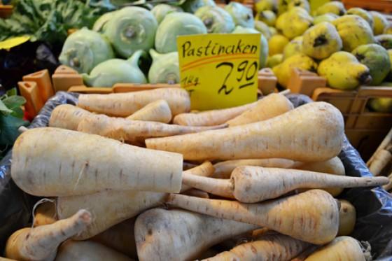 Pastinaken Wochenmarkt Herbst 2012