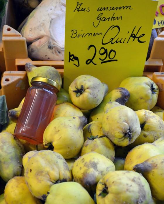 Quitten Wochenmarkt Herbst 2012