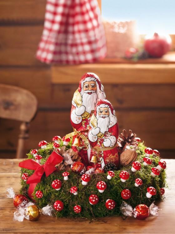 Lindt Weihnachtsmänner