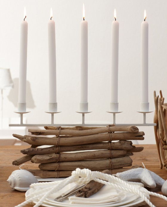 Treibholz-Kerzenständer von tischwerk.eu
