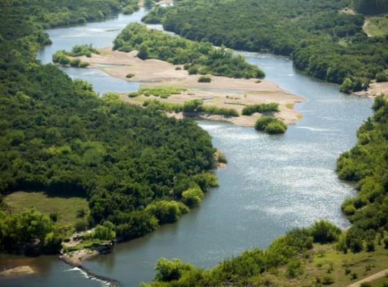 Naturreservat am Rio Negro, Uruguay