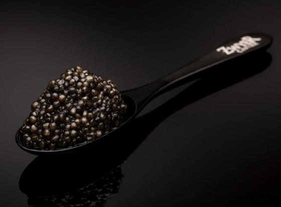Kaviar stilecht mit Hornlöffel