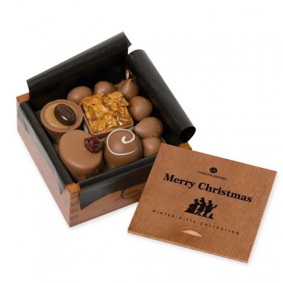 Weihnachts-Pralinenbox von Chocolissimo