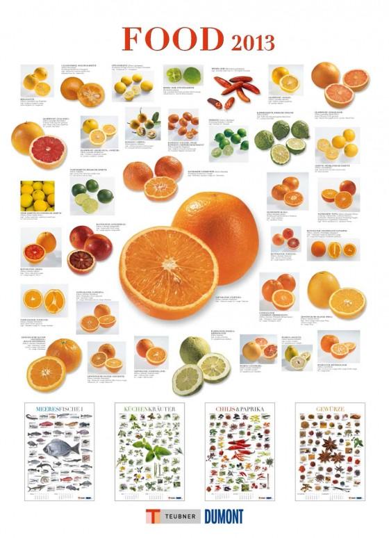 """Kalender """"Food 2013"""" von DuMont"""