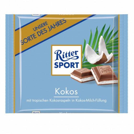 Exotischer Schokoladengenuss: Kokos von Ritter Sport