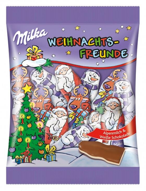 Milka Weihnachtsverpackung