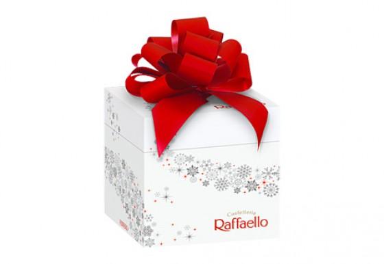 mini geschenkbox von raffaello weihnachtliche. Black Bedroom Furniture Sets. Home Design Ideas