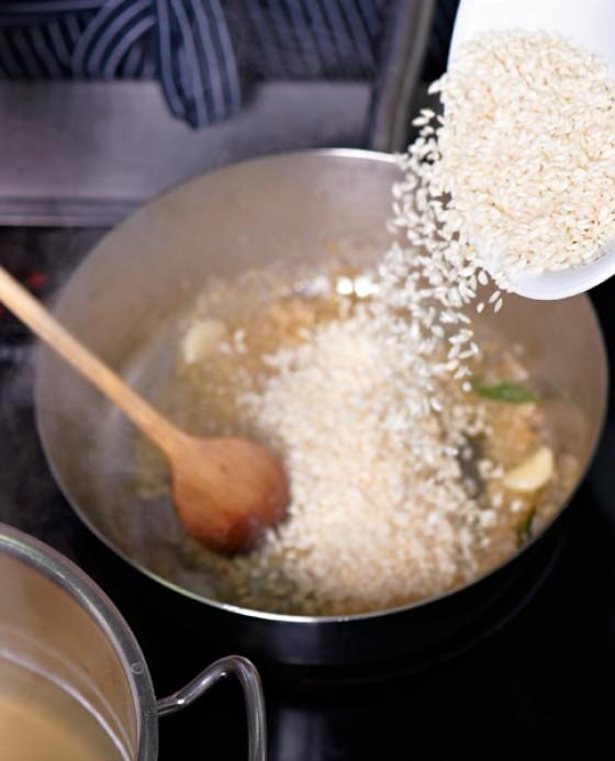 Risotto wie macht man eigentlich risotto 1 essen - Reis kochen mikrowelle ...