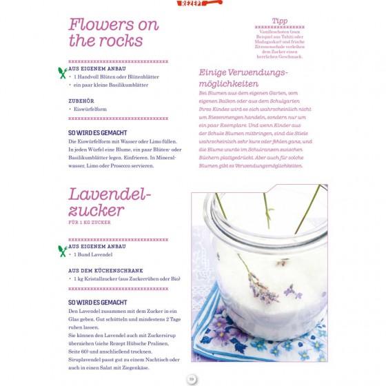 Rezepte: essbare Blumen