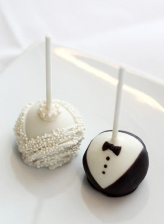 Candy Pops Brautpaar