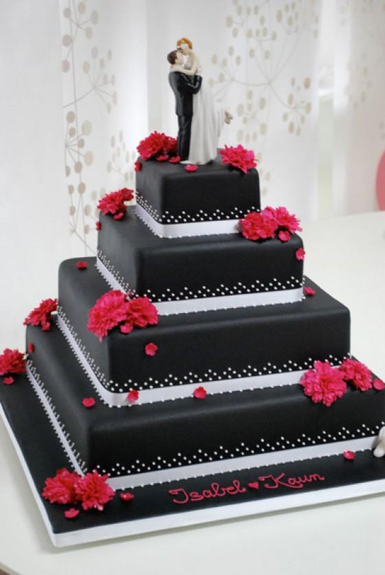 Schwarze Torte