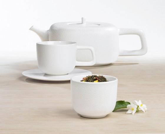"""Porzellan-Tee-Geschirr """"Iron"""" von ASA"""