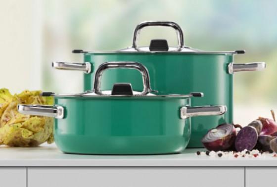 silit bringt farbe in die k che neuheiten von der ambiente 2013 4 essen trinken. Black Bedroom Furniture Sets. Home Design Ideas