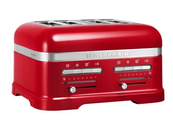 KitchenAid Artisan 4-Scheiben Toaster Empire Rot
