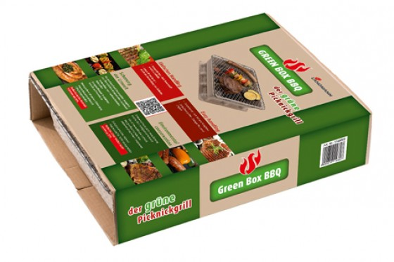 Landmann Picknickgrill Green Box BBQ