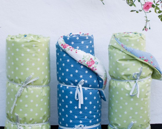 A.U Maison Picknickdecken klein Flora