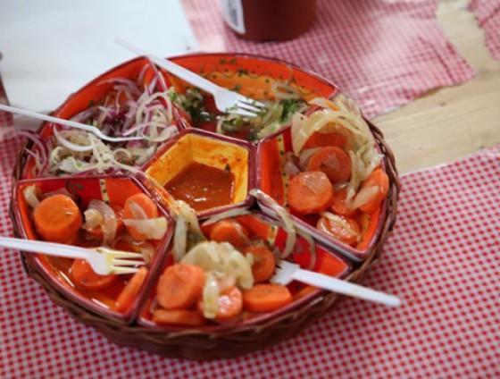 Impressionen vom Street Food Thursday in der Markthalle Neun Berlin