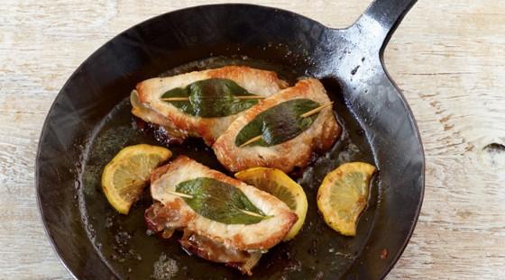 Saltimbocca vom Schwein