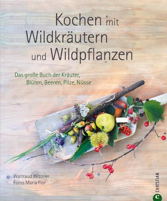 Kochbuch Cover Kochen mit Wildkräutern und Wildpflanzen