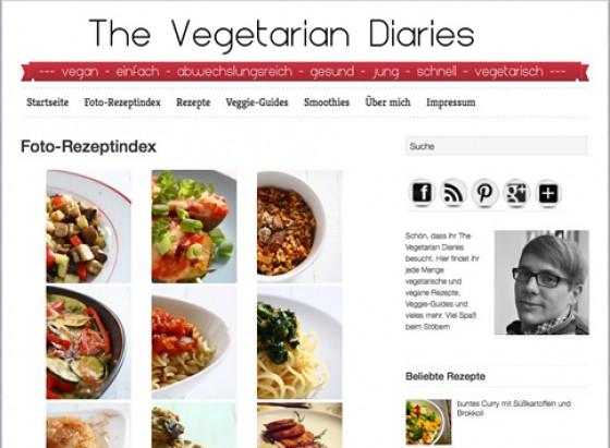Blog The Vegetarian Diaries