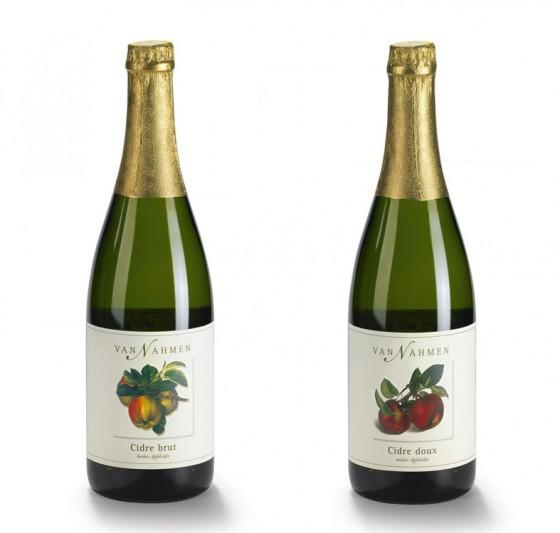 van Nahmen Cidre brut und Cidre doux