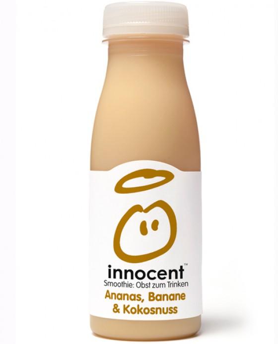 ananas banane kokosnuss smoothie von innocent produkte mit kokos 7 essen trinken. Black Bedroom Furniture Sets. Home Design Ideas