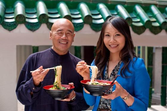 Ken Hom und Ching He Huang