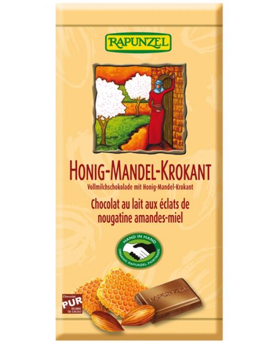 Honig-Mandel-Korkant-Schokolade von Rapunzel