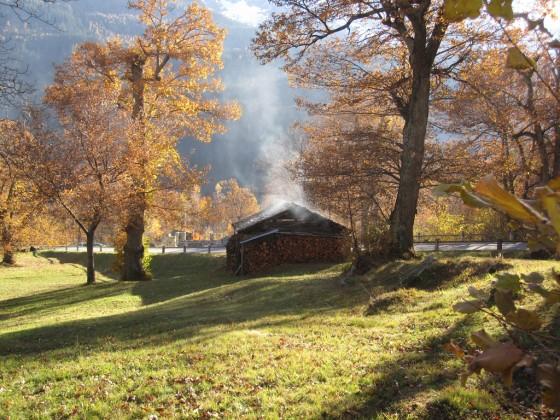 Kastanienfestival im Schweizer Bergell