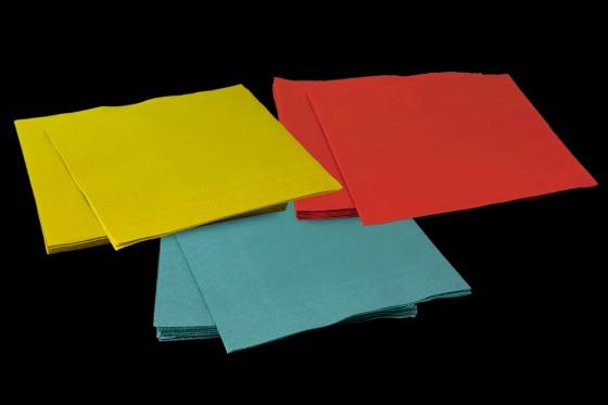 Servietten aus 100% recyceltem Papier