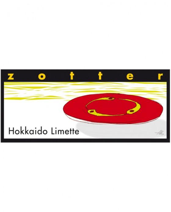 Zotter Hokkaido-Limetten-Schokolade