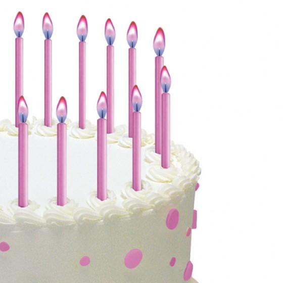 Kerzen Torte