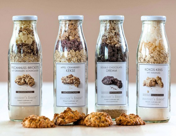 Kekse aus der Flasche